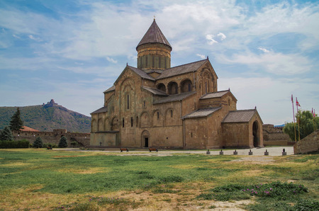 Svetitskhoveli Orthodox cathedral. A masterpiece of the early middle ages.