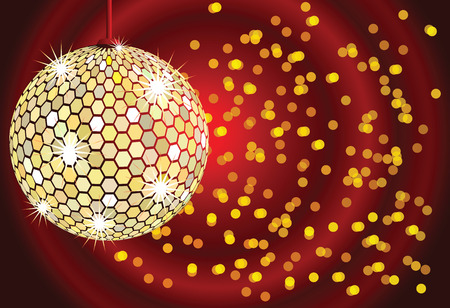 discoteque: Disco ball