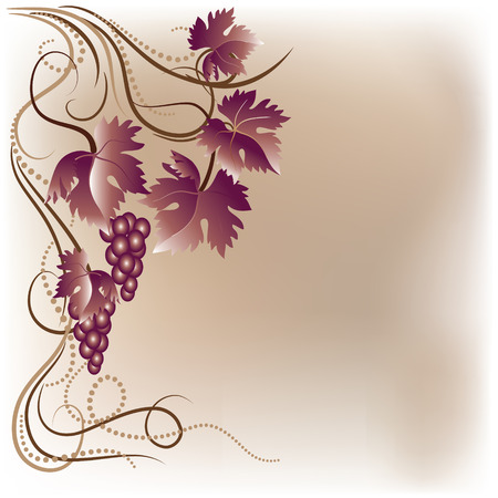 rewarding: Background with  vine ornament