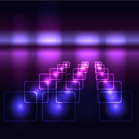 Glowing violet vector background Vector