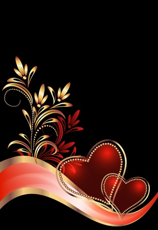 love wallpaper: Card with decorative heart