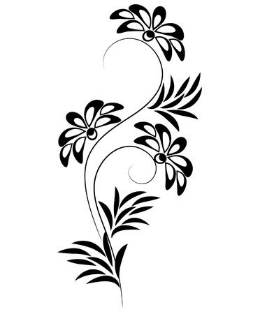 Ornamentos decorativos para diversas obras de arte de diseño