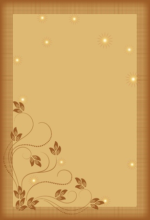 Background with decorative ornament for various design artwork  Stock Vector - 8776718
