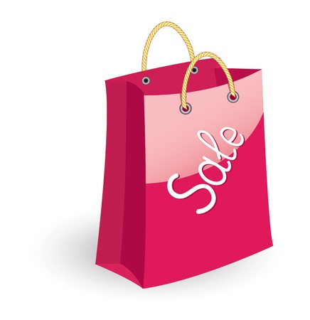 Paper shopping bag Stock Vector - 9611755