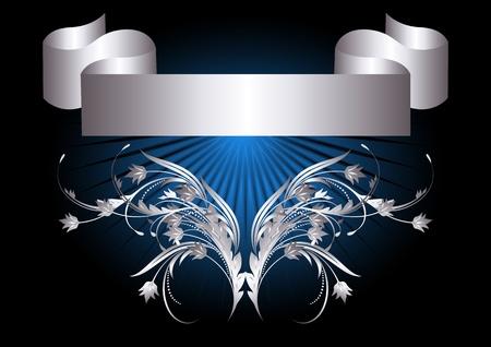 Background with golden ornament for vaus design artwork Stock Vector - 9810054