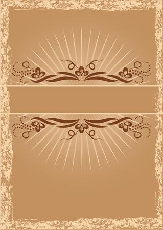 title page: T�tulo de la p�gina en estilo retro Vectores