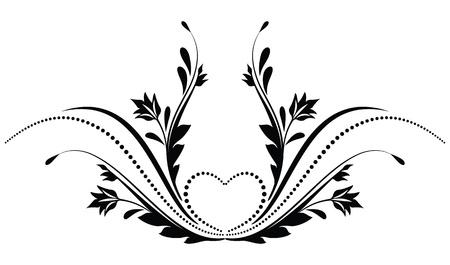 tendril: Decorative ornament for various design artwork