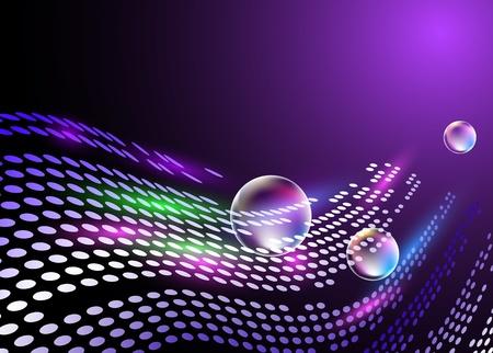 digital art: Digital background for various design artwork Illustration