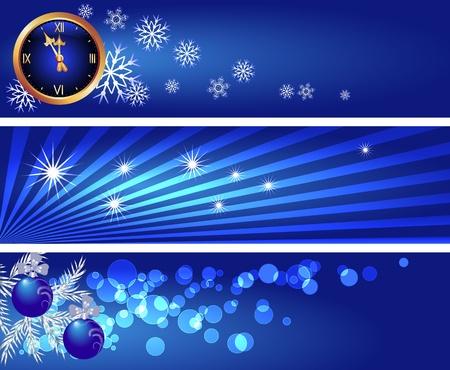 희미한 빛: 종소리, 눈송이, 나뭇잎, 실버 전나무 분기에게 크리스마스 배경 설정