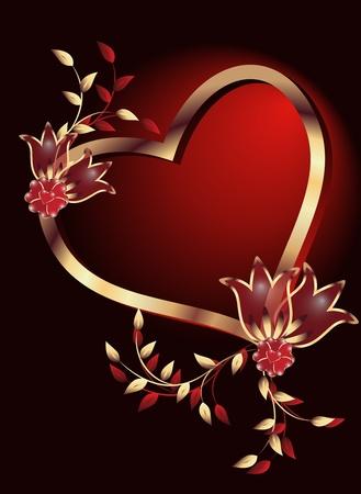Valentijnsdag Stock Illustratie