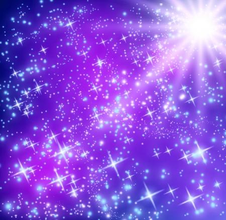 the universe: De fondo con estrellas brillantes