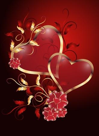 dessin coeur: Saint-Valentin