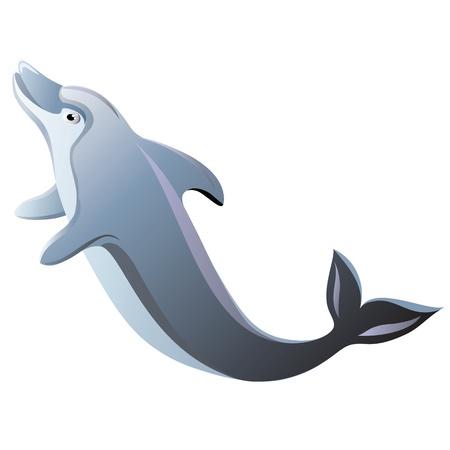 dolphin: Dolphin geïsoleerde