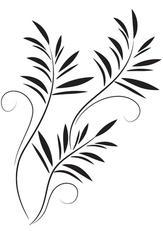 Flores ornamento decorativo