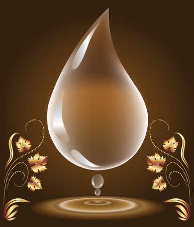 waterdrop: Water-drop   Illustration