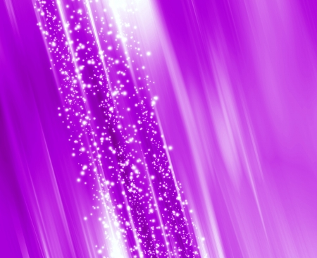 Abstract glowing background with stars photo