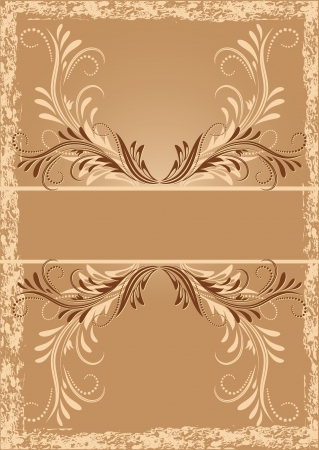 Vintage background with ornament Stock Vector - 13979127
