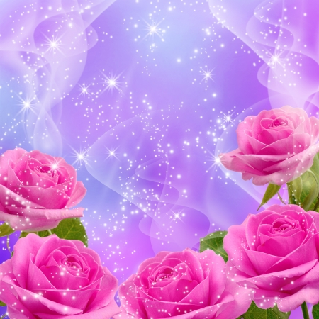 Roses and shine stars