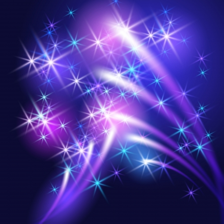 салют: Светящиеся фон с салютом