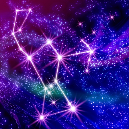 Orion constellation  in the sky Stock Photo - 18241584