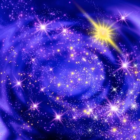 Explosion of supernova star Stock Photo - 18688316