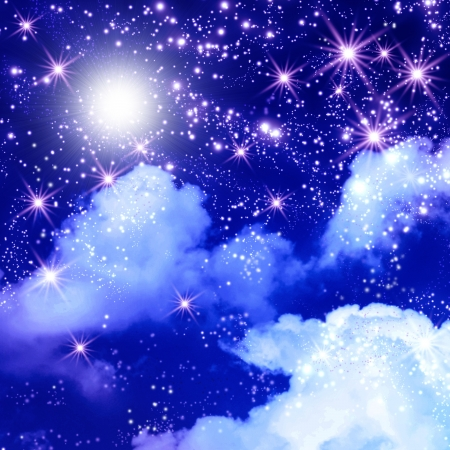 Shining stars in the space Stock Photo - 20230421