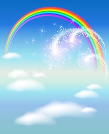 flecks: Rainbow in the sky and salute