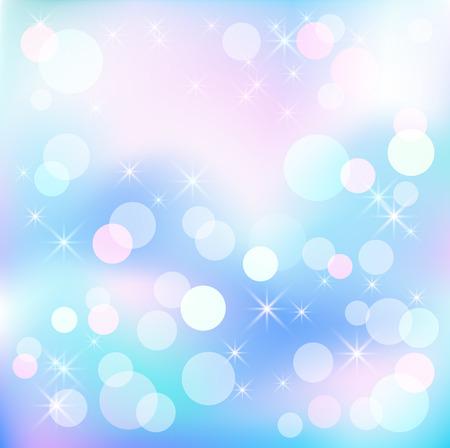 blinking: Glowing blur background with bokeh and sparkle shiny stars