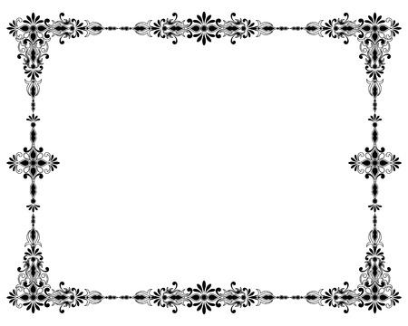 Decoratief ornament frame