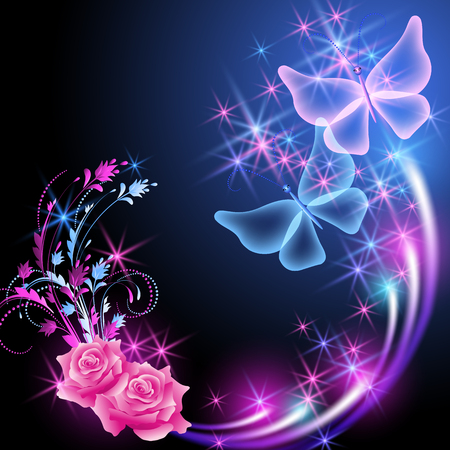 Rose Butterfly Stock Photos And Images 123rf