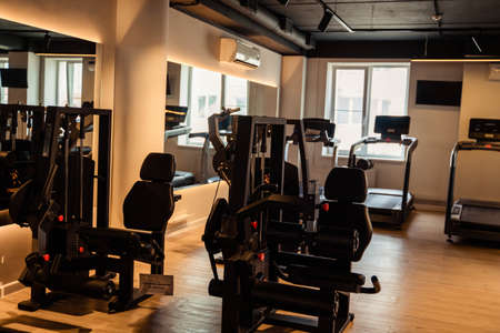 equipment for training in the gym
