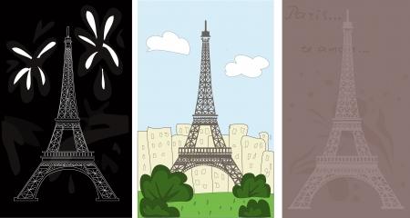 Eiffel tower Stock Vector - 16120695