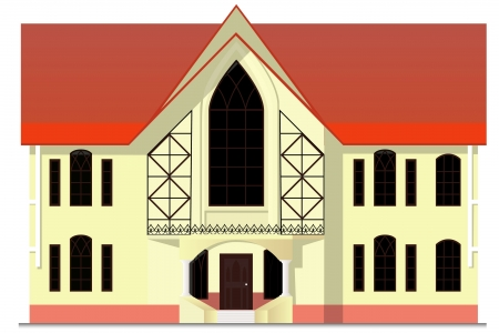house in the Gothic style Stock Vector - 16120709