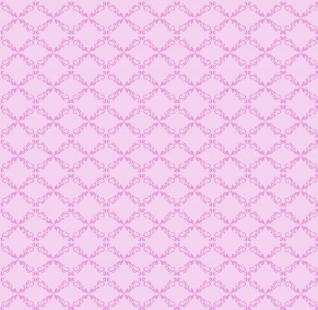 roze naadloze abstracte patroon Stock Illustratie