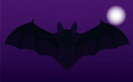 wingspan: illustrazione vettoriale del pipistrello