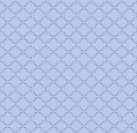 vector blauwe naadloze abstracte patroon