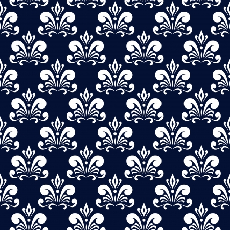 blue damask: dark blue damask pattern