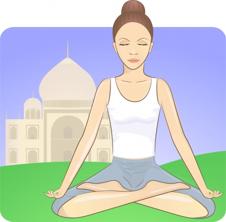 meditation Stock Vector - 17962864