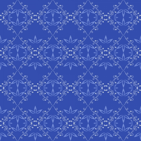 vector blue seamless pattern Stock Vector - 18254820