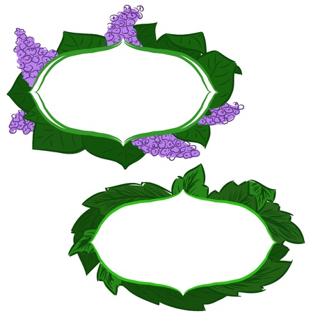 vector hand drawing floral banners Vector