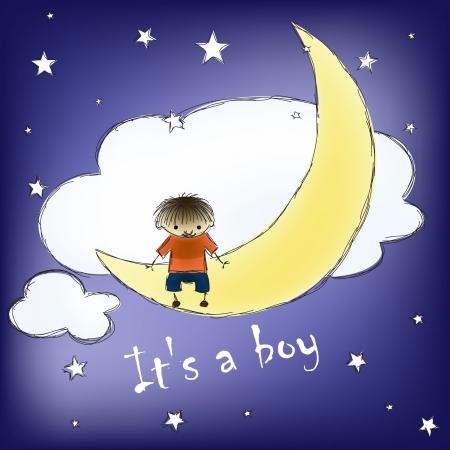 its a boy: its a boy card