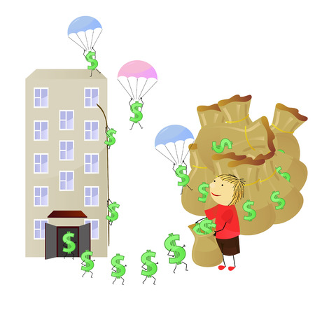 tenancy: illustration make money