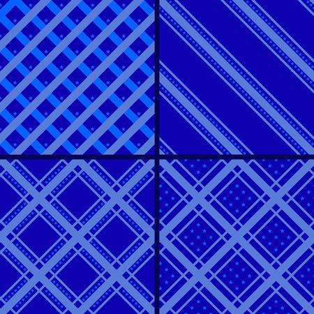 estrella azul: patr�n de rayas azul estrella