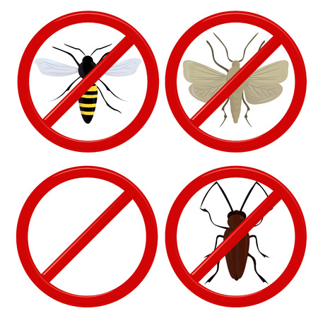 insect repellent: no insects cockroach, moth and wasp