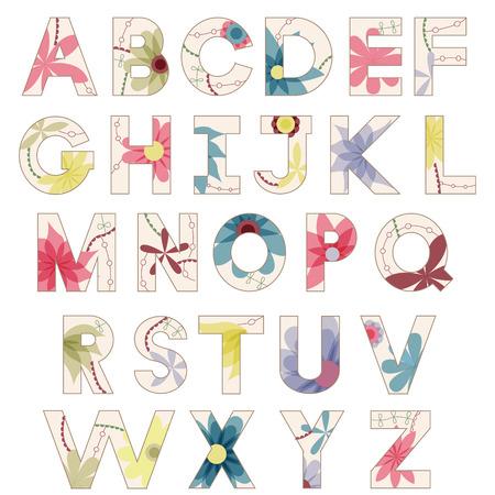 Vintage alphabet Reklamní fotografie - 30186108