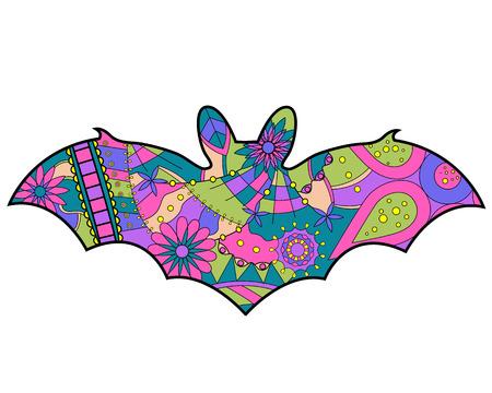 Colorful bat