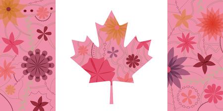 multiply: Vintage Canada flag