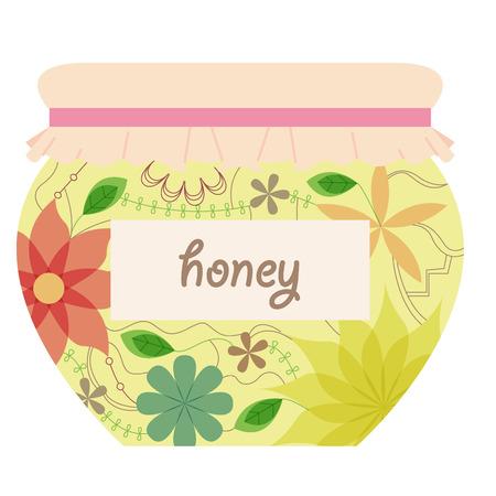 multiply: Vintage honey jar
