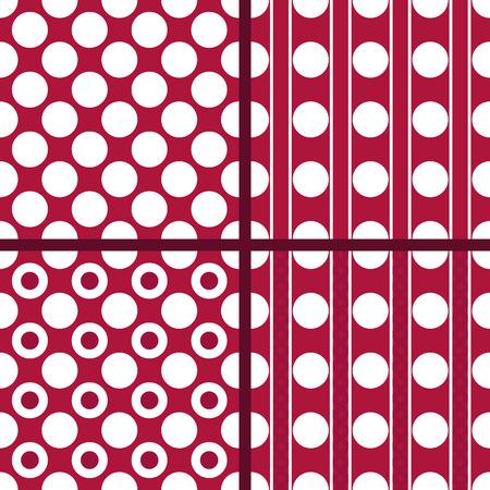 rasberry: Red polka dot