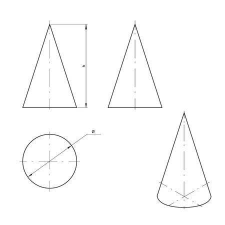 diameter: Cono